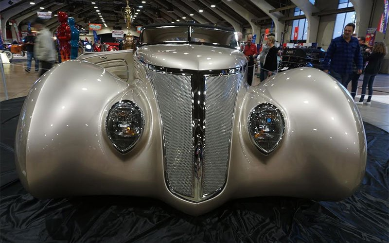 1937 Ford Roadster at the 2017 Grand National Roadster Show