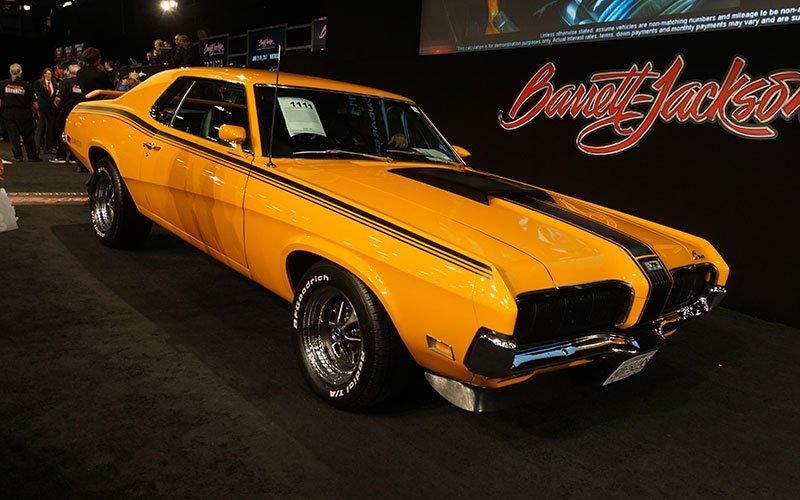 1970 Mercury Cougar Eliminator Super Drag Pack at 2017 Barrett-Jackson Auction