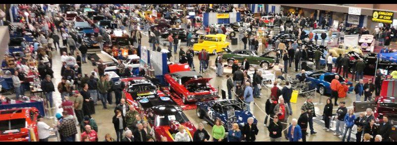 cavalcade of cars