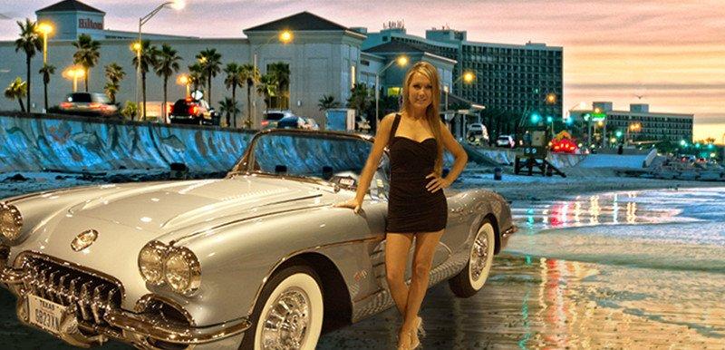 corvette chevy expo galveston