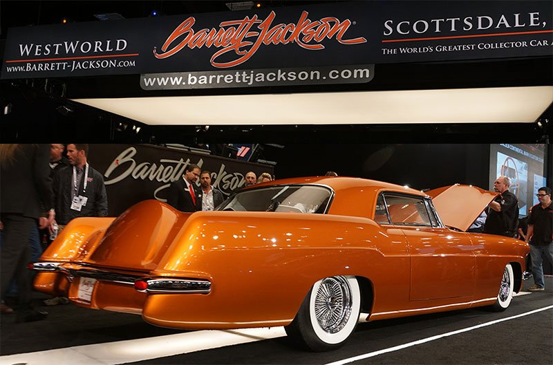 1956 Lincoln Continental sold at 2017 Barrett-Jackson Auction