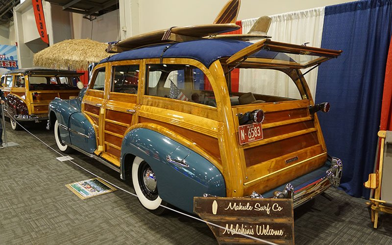 Southern California Woody Club at the 2017 Grand National Roadster Show