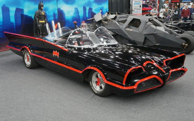 The Batmobile is part of the 65th Anniversary Special Display this year.