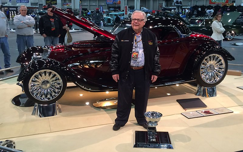 Ridler Award Winner at 2017 Detroit Autorama
