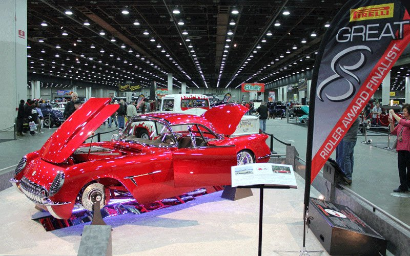 2017 Detroit Autorama Ridler Award competition