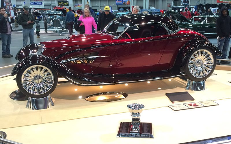 1933 Ford Renaissance Roadster wins 2017 Ridler Award