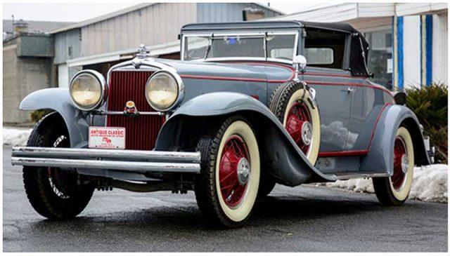 1931 Stutz Series MA SV-16