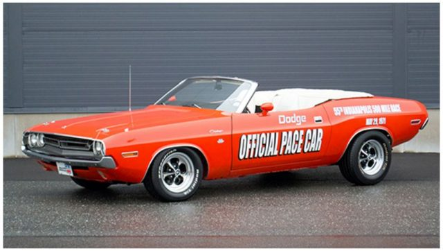 1971 Dodge Challenger Indy Pace Car Convertible