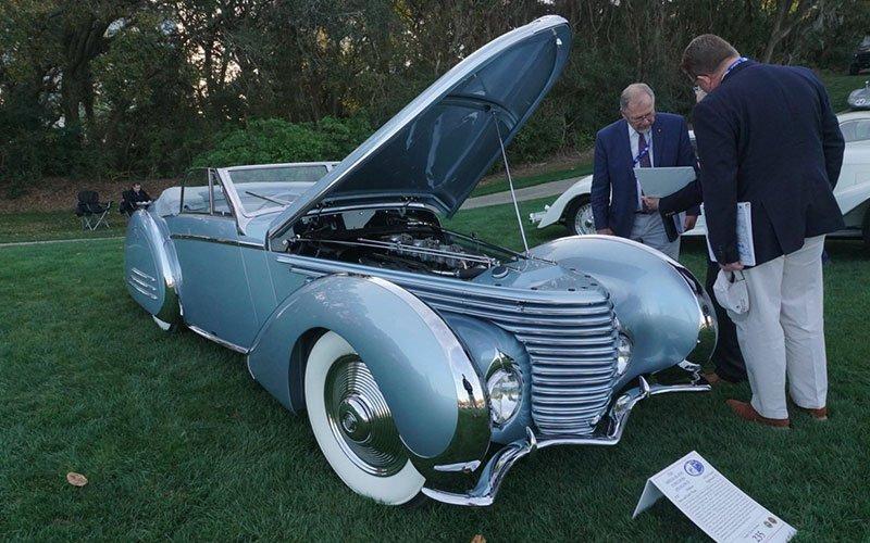 Amelia Island Concours - Englewood car show