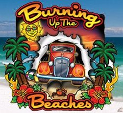 Destin Fl Burning Up The Beaches Car Show