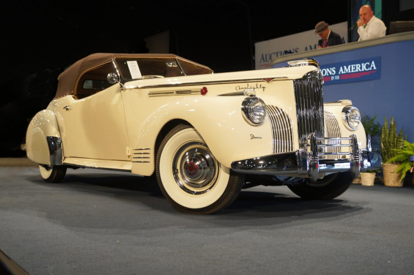 1941 Packard One-Eighty Convertible Victoria at 2017 Auburn Spring Auction