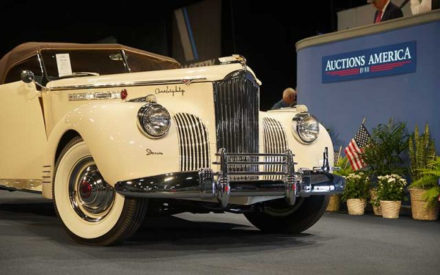 1941 Packard One-Eighty Convertible by Darrin at 2017 Auburn Spring Auction