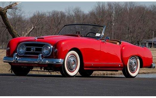 1953 Nash Healey at 2017 Auburn Spring Auction