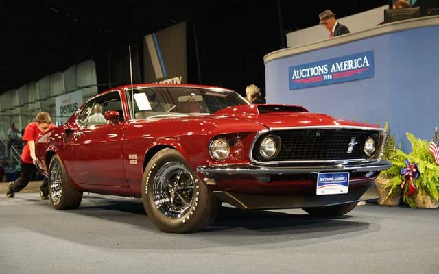 1969 Boss 429 Mustang at 2017 Auburn Spring Auction