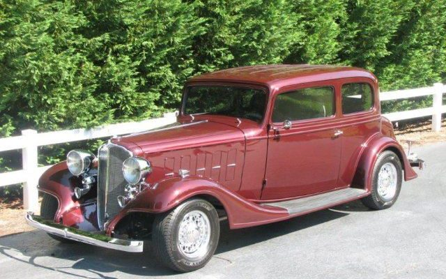 1933 Buick Victoria at 2017 Raleigh Classic