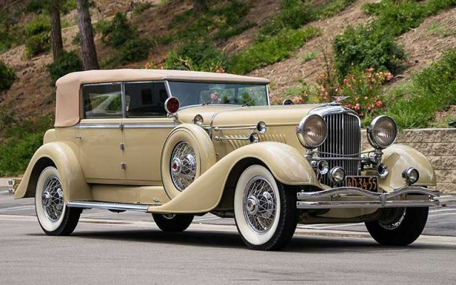 1929 Duesenberg sold at 2017 Santa Monica Auction