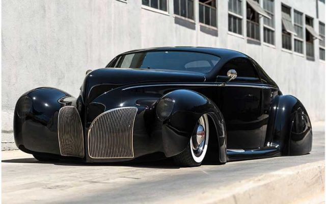 "2017 Santa Monica Auction , 1939 Lincoln-Zephyr Custom ""Scrape"""