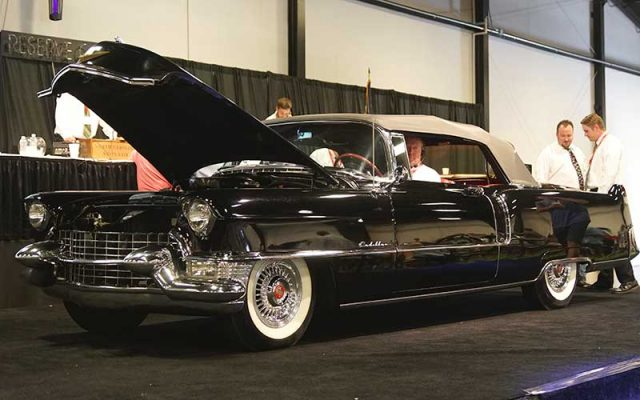 1955 Cadillac Series 62 Convertible sold at the 2017 Raleigh Classic