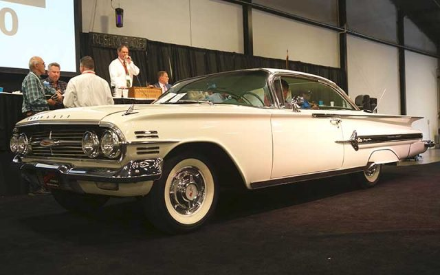 1960 Chevrolet Impala Hardtop at the 2017 Raleigh Classic