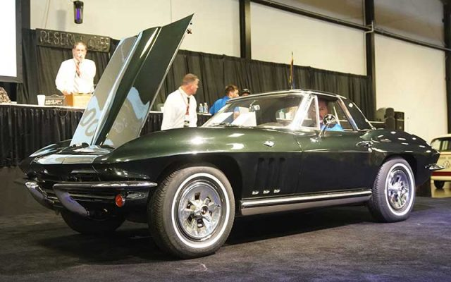 1965 Corvette Convertible at the 2017 Raleigh Classic