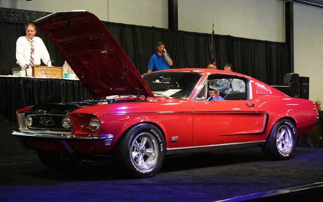 1968 Mustang S Code Fastback sold at 2017 Raleigh Classic
