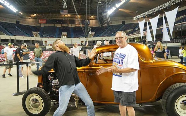 Giveaway Car at the NSRA 2017 Street Rod Nationals