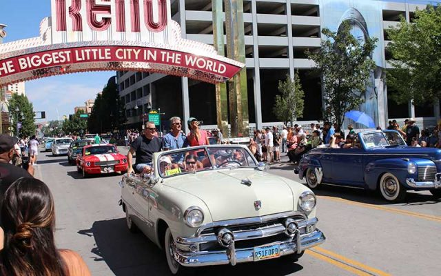 Hot August Nights 2017 downtown parade