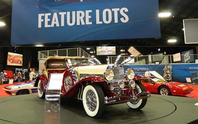 1933 Duesenberg is the star of the Fall Auburn Auction 2017