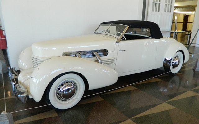 1937 Cord Convertible Coupe