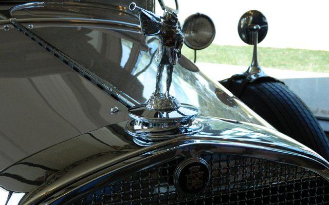 1928 Cadillac 341-A Sport Phaeton Hood Ornament