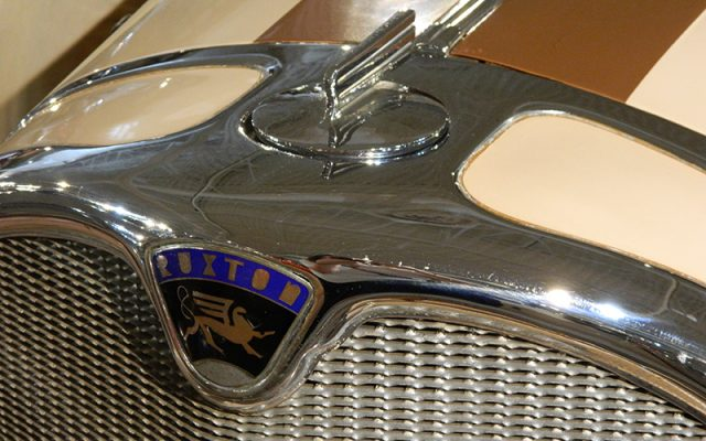 1930 Ruxton Roadster Hood Ornament