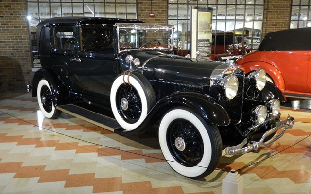1929 Lincoln Model L Brunn Brougham Town Car