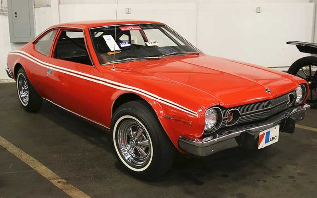 1974 AMC Hornet Hatchback, James Bond stunt car, Fall Auburn Auction 2017