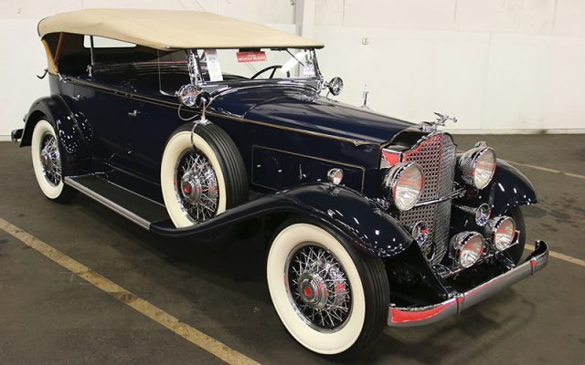1932 Packard 8 Sport Phaeton SOLD at the Fall Auburn Auction 2017