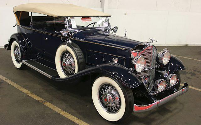 1932 Packard 8 Sport Phaeton SOLD at the Fall Auburn Auction 2017