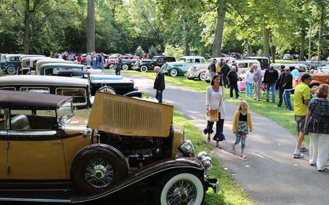 Auburns On Display at Auburn-Cord-Duesenberg Festival 2017