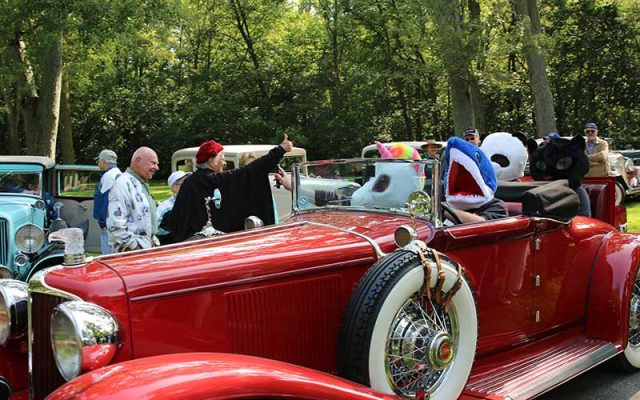 Auburns On Display at Auburn-Cord-Duesenberg Festival 2017