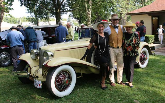 Cords On Display at Auburn-Cord-Duesenberg Festival 2017