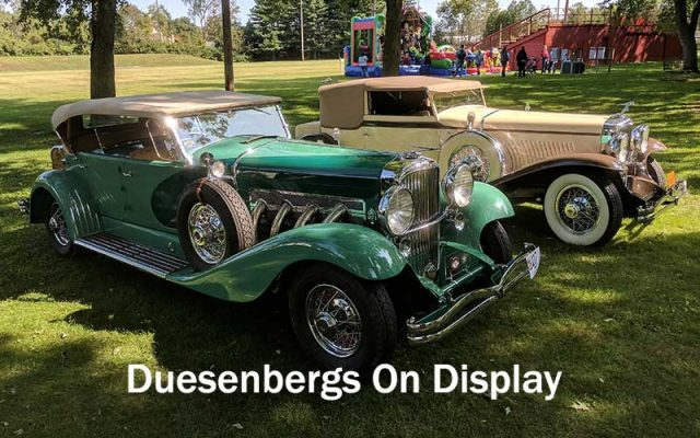 Duesenbergs On Display at Auburn-Cord-Duesenberg Festival 2017