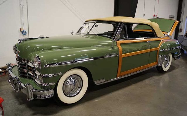1949 Chrysler Town & Country Convertible at the Winter 2017 Raleigh Classic