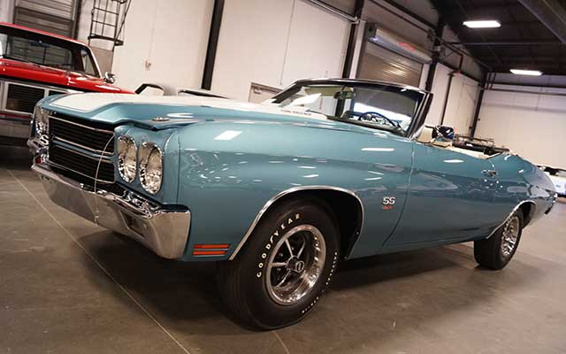 Winter 2017 Raleigh Classic features 1970 Chevelle SS LS6 Convertible