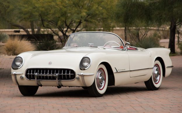 1953 Corvette sold in Barrett-Jackson Auction Results