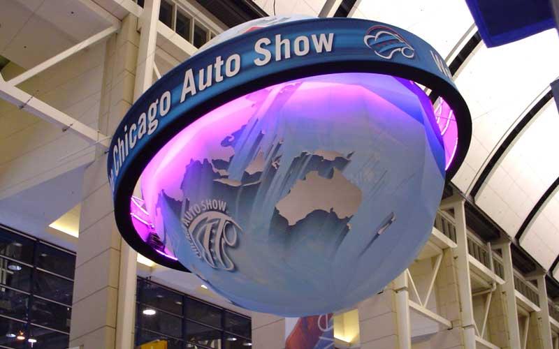 2018 Chicago Auto Show Globe
