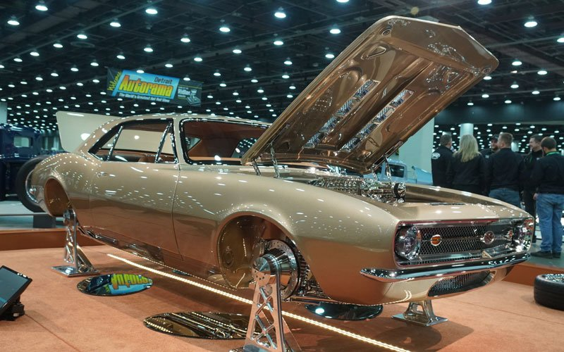 2018 Detroit Autorama 1967 Camaro Great 8 Winner