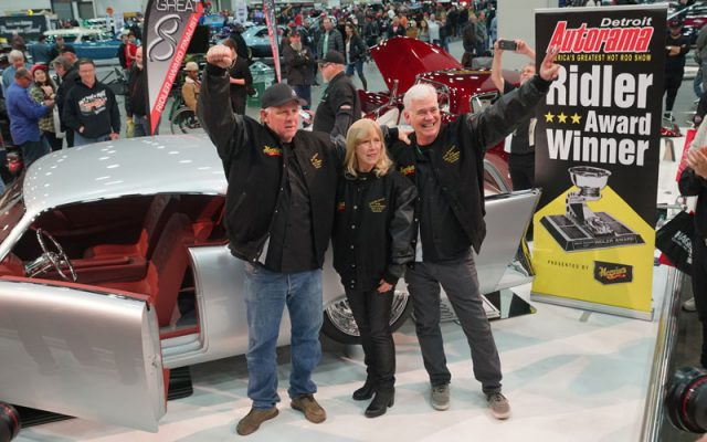 Ridler Award Winners at 2018 Detroit Autorama