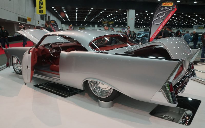1957 Chevy 150 Great 8 Winner at 2018 Detroit Autorama