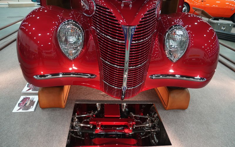 '39 Ford Sedan Delivery Great 8 Winner at 2018 Detroit Autorama