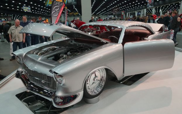 1957 Chevy 150 Great 8 Winner at 2018 Detroit Autorama