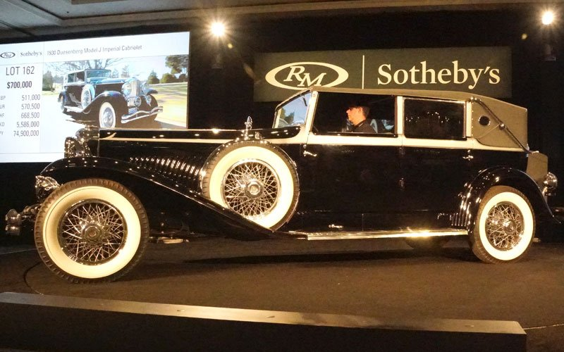 RM Sotheby's Auction at Amelia Island Concours D'Elegance