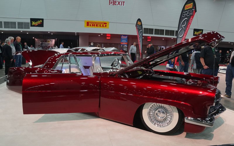 '56 Lincoln Great 8 winner 2018 Detroit Autorama